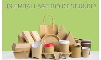 Emballage biodegradable