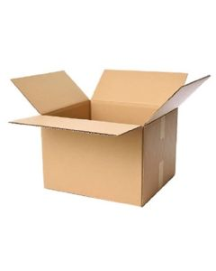 Caisse Carton Simple Cannelure 25 x 25 x 15 cm