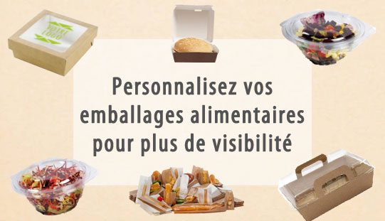Personnaliser son emballage alimentaire